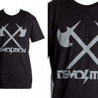 T Shirt Demolition Axes
