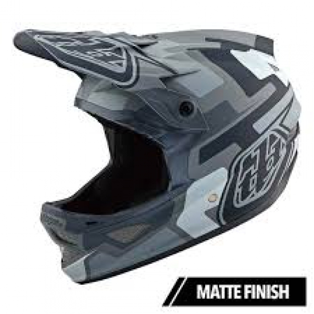 Troy lee Designs D3 Fiberlite speedcode Gray S