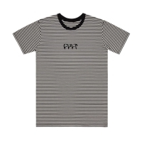 T Shirt Cult Stripe Black / White