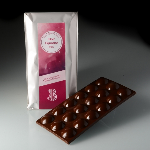 Chocolat noir Equador 76 % - Pure Origine Equateur