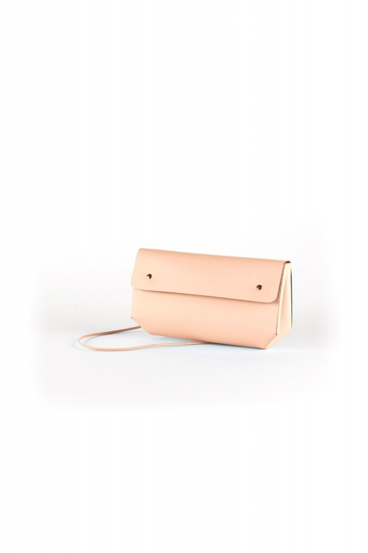 Mini-sac TRIANGLE CASE camel